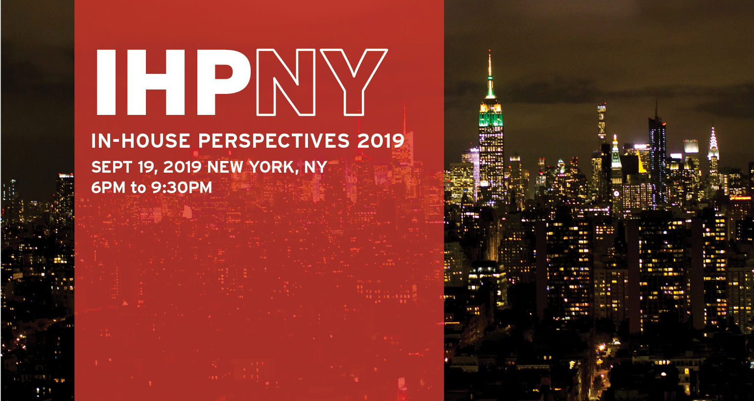 In-House Perspectives 2019: Save The Date